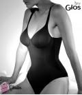 Body in cotone elasticizzato Gios Peonia